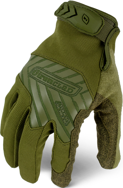 IRONCLAD COMMAND TACTICAL GLOVES - S - TACTICAL PRO GLOVE OD GREEN