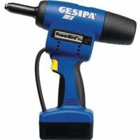 1457637, Gesipa Power Tool Powerbird Pro Gold 4400 18.5V Cordless Riveting Tool