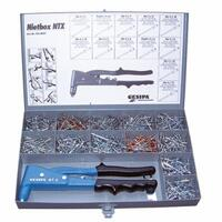 NTX-F KIT, Gesipa, Gesipa Manual Rivet Tool Kit, [Ntx-F Manual Rivet Tool, W/Rivets].