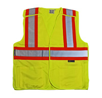 REFLECTIVE VEST YELLOW CL2